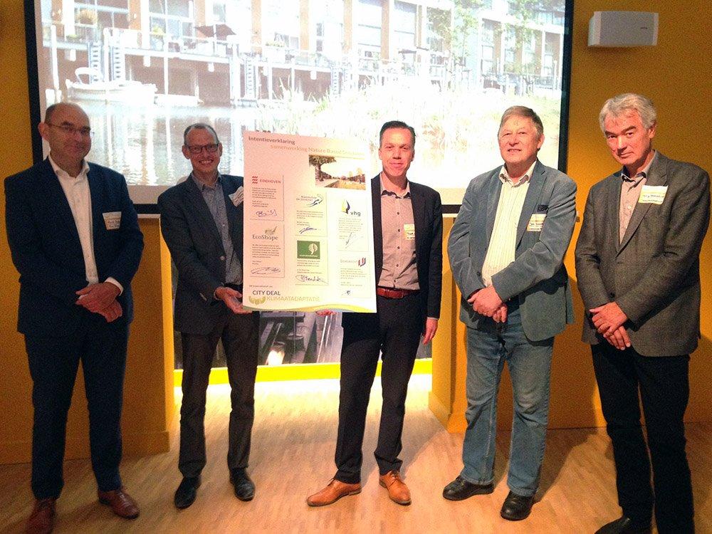 Dordrecht inspireert met pilots klimaatadaptatie