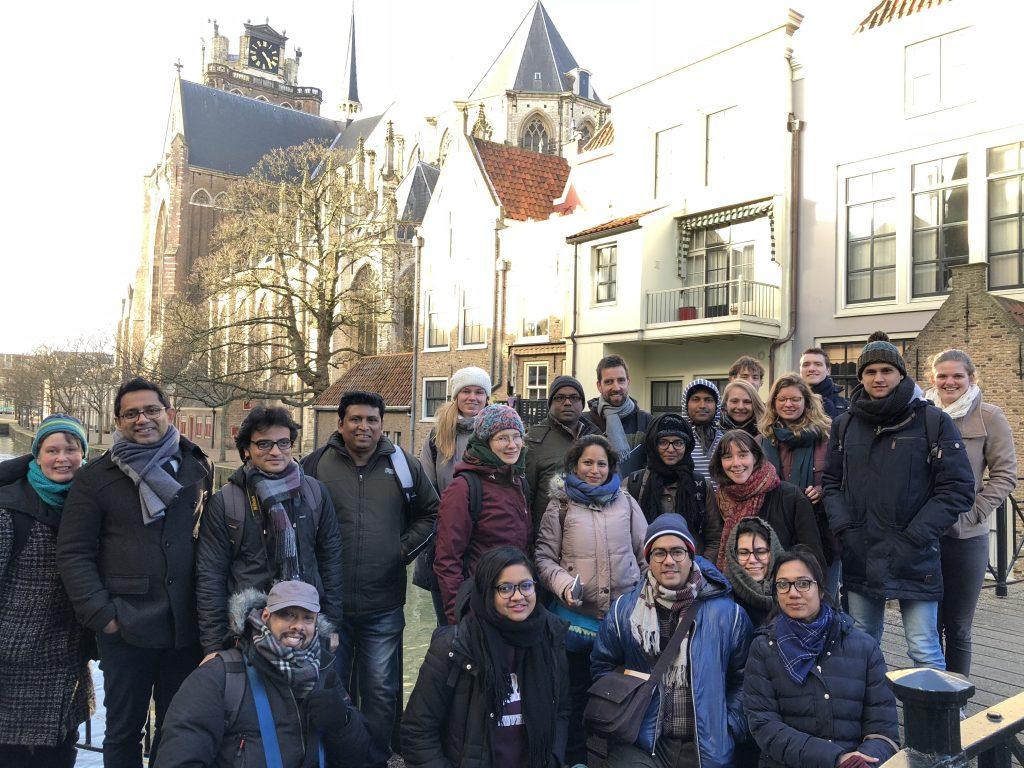 Bengalen bezoeken Dordrecht