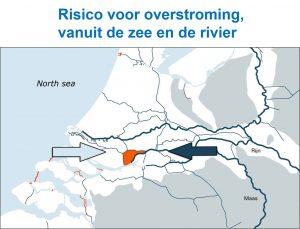 Risico voor overstroming