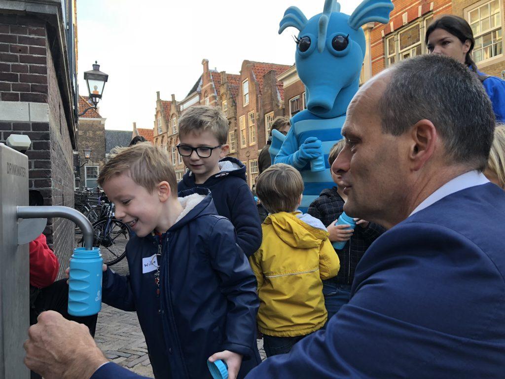 Watertappunt Hofstraat geopend