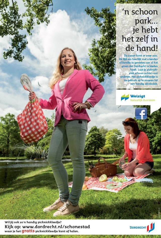 Gratis picknickkleedjes in Dordtse parken